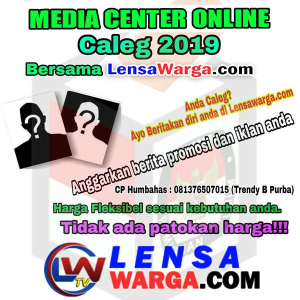 Media Center Online Pemilu 2019